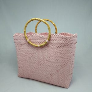 Bamboo Handle: Blush Pink